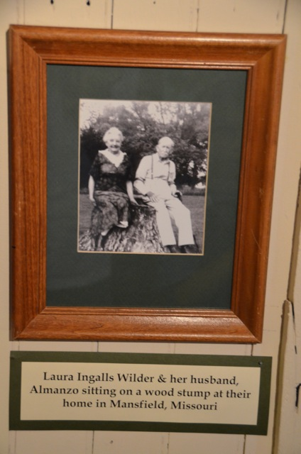 Photo of Laura Ingalls Wilder & Almanzo - Mansfield Missouri