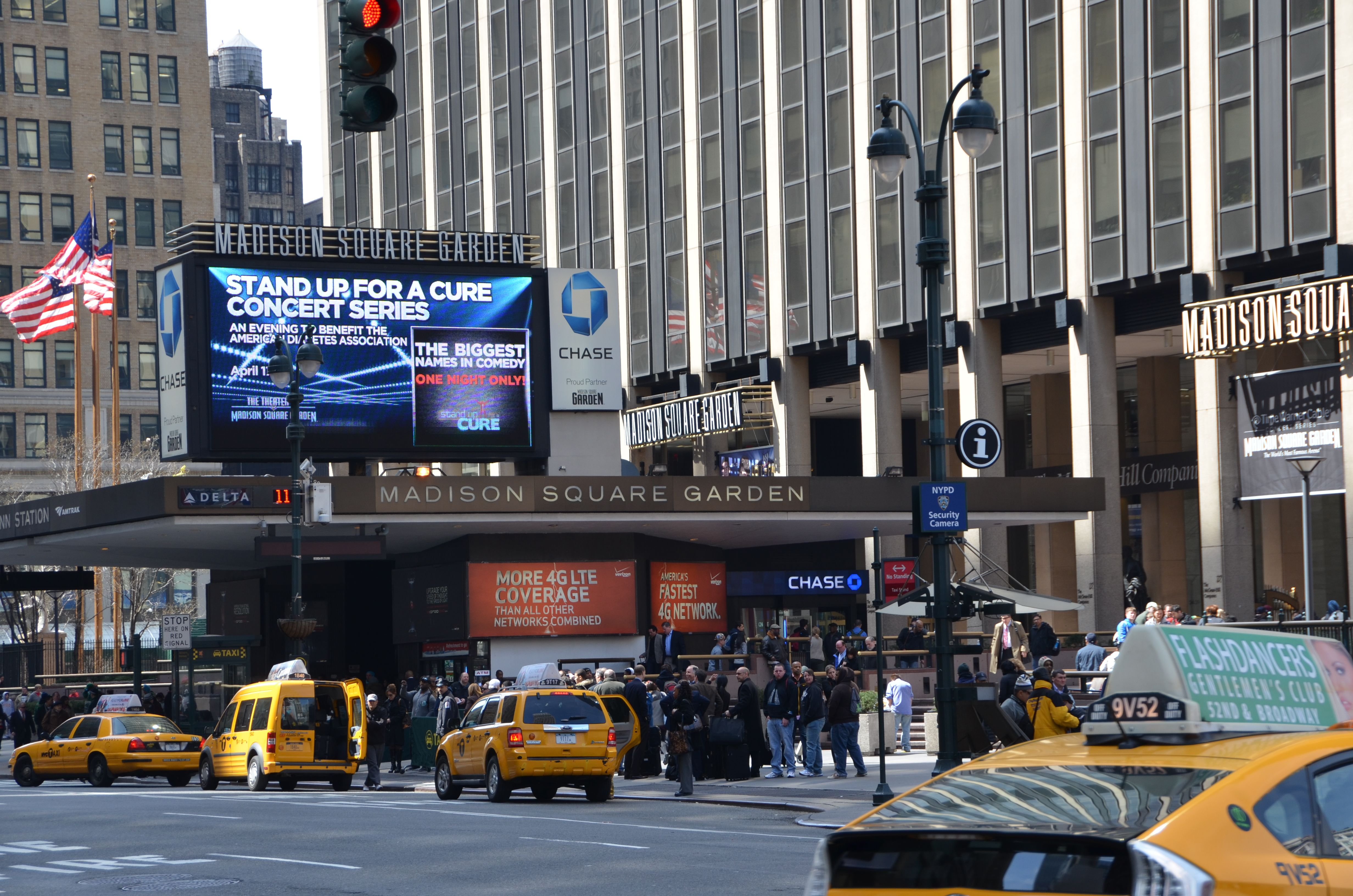 Madison Square Garden Nyc Our Best Road Trips Road Trip Ideas Information Photos Tips